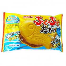 Meito Puku Puku Tai Fish Wafer - Chocolate