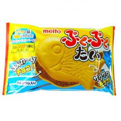Meito Puku Puku Tai Fish Wafer - Chocolate