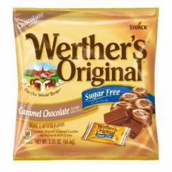 Werther's Original Caramel Chocolate Sugar Free
