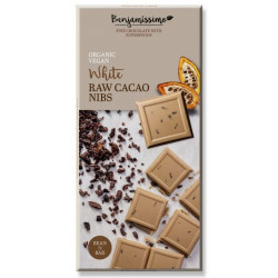 Benjamissimo White Raw Cacao Nibs