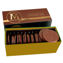 Magnum Classic Milk Chocolate Thins