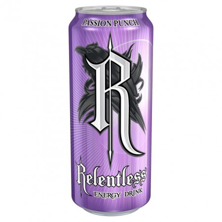 Relentless Energy Passion Fruit