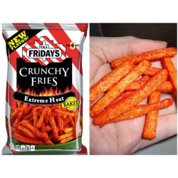 T.G.I. Friday's Crunchy Fries Extreme Heat 127g