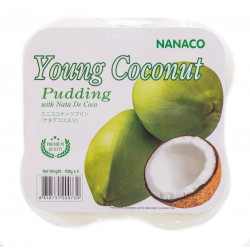 Nanaco Pudding Young Coconut 4 Pack