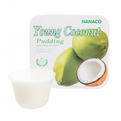 Nanaco Pudding Young Coconut 108g