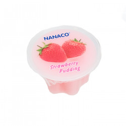 Nanaco Pudding Strawberry 80g