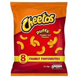Cheetos Puffs Flamin Hot 8 Pack
