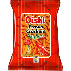 Oishi Prawn Crackers Spicy