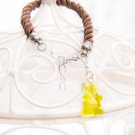 Bransoletka Gummy Bear Yellow