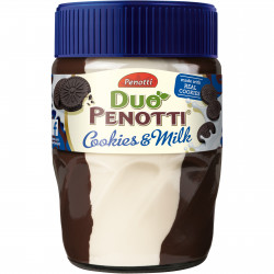 Duo Penotti Cookies and Milk