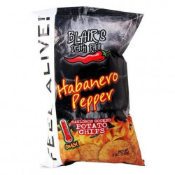 Blair's Habanero Peppper Chips Big Bag 142g