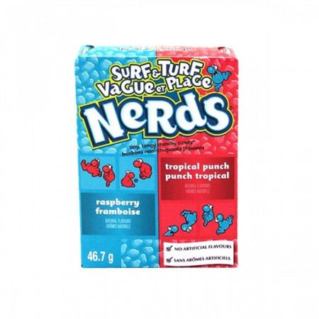 Wonka Nerds - Totally Tropical Punch & Road Rash Raspberry