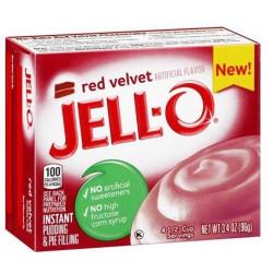 Jell-O Red Velvet Instant Pudding