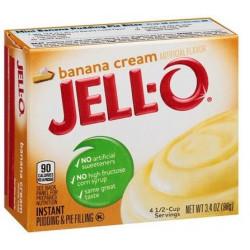 Jell-O Banana Cream Pudding