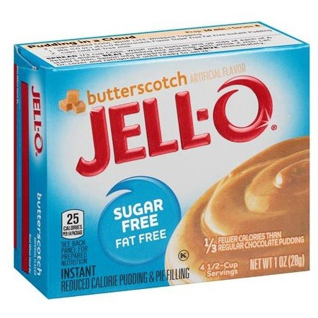 Jell-O Butterscotch Sugar Free Instant Pudding