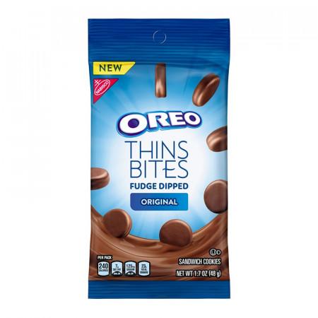 Oreo Thins Bites Fudge Dipped Original