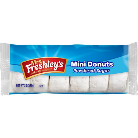 Mrs Freshley's Powdered Mini Donuts