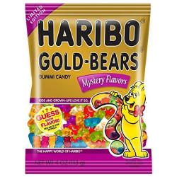 Haribo Gold Bear Mystery Flavour USA