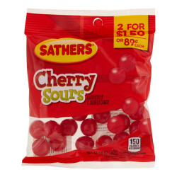 Sathers Cherry Sours Bag