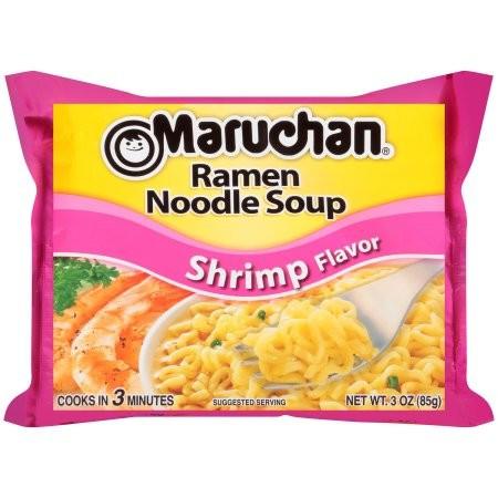 Maruchan Shrimp Ramen Noodles Soup