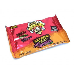 Warheads Hotheads Extreme Mini Heat Worms
