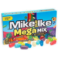 Mike and Ike Mega Mix 10 Flavours