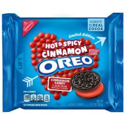 Oreo Hot & Spicy Cinnamon Cookies Cookies