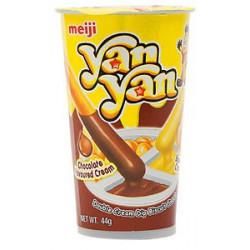 Meiji Yan Yan Chocolate / Banana Snack