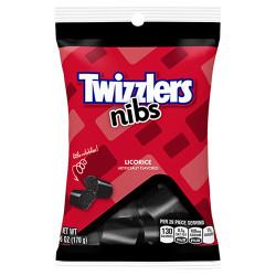 Twizzlers Nibs Licorice Bites Bag