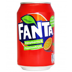Fanta Raspberry & Passionfruit