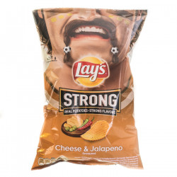 Lay's Strong Cheese & Jalapeno