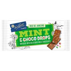 Fazer Mint Choco Drops Milk Chocolate