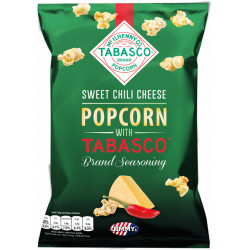 Popcorn Tabasco Sweet Chili Cheese