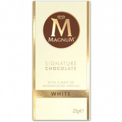 Magnum Signature Chocolate White Mini