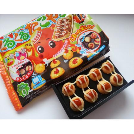Kracie Popin Cookin DIY Kurukuru Takoyaki Kit