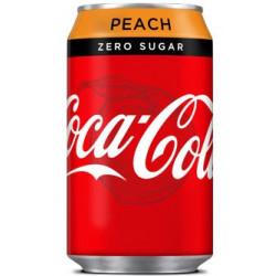 Coca-Cola Peach Zero Sugar UK