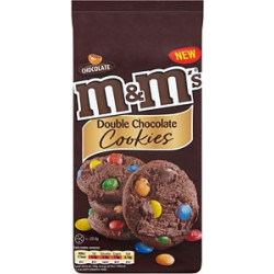 M&M's Double Chocolate Cookies