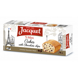 Jacquet Mini Cakes Chocolate Chips