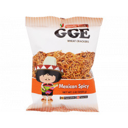 GGE Wheat Crackers Mexican Spicy