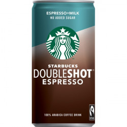 Starbucks Double Shot Espresso Drink No Sugar
