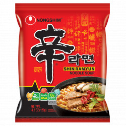 Nongshim Spicy Shin Ramyun