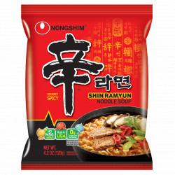 Nongshim Mega Spicy Shin Ramyun