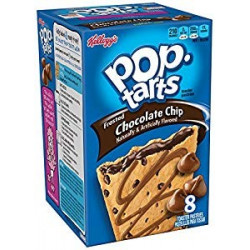 Pop Tarts Frosted Chocolate Chip Box