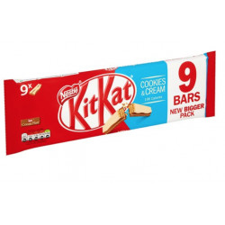 KitKat Cookies and Cream 9 Pack