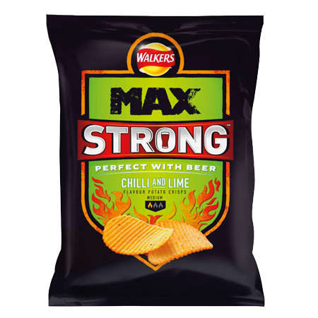 Walkers Max Strong Chilli and Lime