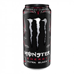 Monster Energy Ultra Black Cherry