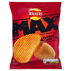 Walkers Max Flamin Hot