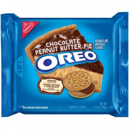Oreo Chocolate Peanut Butter Pie