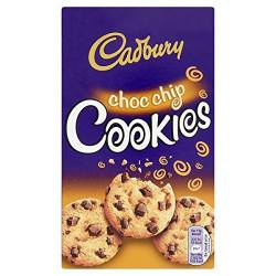 Cadbury Choc Chip Cookies