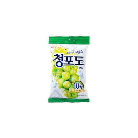 Lotte Green Grape Candy